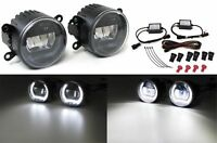 LED FOG LIGHTS WITH DRL DAY RUNNING LIGHTS FOR RENAULT LAGUNA II III & TWINGO
