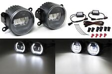 LED FOG LIGHTS WITH DRL DAY RUNNING LIGHTS FOR FORD C MAX FIESTA IV FUSION GIFT