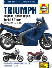 Triumph Speed Triple Sprint ST RS Tiger 885i 955i Haynes Manual 3755