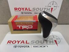 Toyota Tundra 2014 2015 2016 TRD Aluminum & Leather Shift Knob Genuine OE OEM