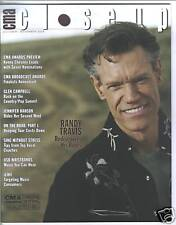 Randy Travis Covers CMA Close Up Magazine 2008