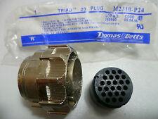 Thomas & Betts M2310-P24 TRIAD 20 PLUG CONNECTEUR 24 BROCHES 24 MOYEN TE