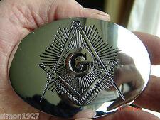 Masonic belt buckle freemasonry mason lodge master.