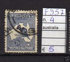 FRANCOBOLLI AUSTRALIA USATI N°4 (F957)