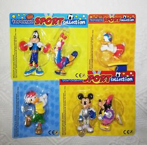 MICKEY MOUSE SPORT COLLECTION COMPLETE SET OF 6 PANINI ITALY 2021 OLYMPIC GAMES