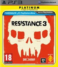 Resistance 3 Platinum PS3 - totalmente in italiano
