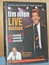 Tim Allen - Live On Stage (DVD, 2006) NEW stand-up comedy