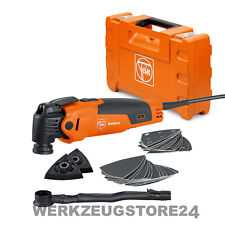 Fein MultiMaster FMM 350 QSL Basic im Koffer + Staubabsaugung   mit Starlock
