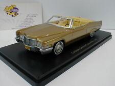 """NEO 47145-Cadillac DeVille Convertible Année 1970 """"Gold Metallic"""" 1:43"""