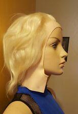 New Short Hair Wig Mannequin Cosplay Costume Halloween Anime Blonde Unisex
