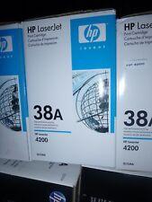 HP Q1338A (38A) BLACK Toner Cartridge for LaserJet 4200 NEW GENUINE