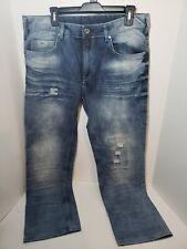 David Bitton Mens Buffalo Blue Jeans Size 36/30