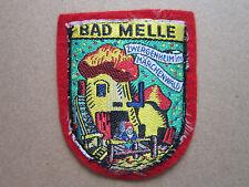 Bad Melle Zwergenheim Im Marchenwald Woven Cloth Patch Badge