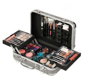 Professional Makeup Kit Lipstick Eyeshadow Palette Beauty Case Cosmetic Set Gift