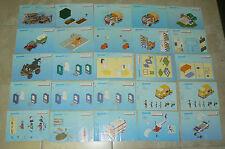 PLAYMOBIL lot de 58 notices , format 21 cm / 15 cm