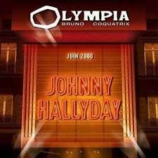 CD de musique rock français Johnny Hallyday sur album