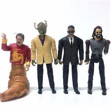 "4X Movies Toy MIB Men In Black 3 Agent J/ Boris/ Mr. Wu/ Stalk Eyes 3.75"" Figure"