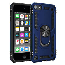 iPod Touch 5th 6th 7th Gen - HARD HYBRID HIGH IMPACT ARMOR CASE ARMY NAVY BLUE