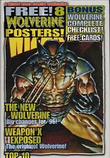 WIZARD MAGAZINE  SEALED Wolverine Posters + cards    c2.543