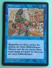 MTG MAGIC Carte PASSE PASSE Sleight Of Hand Ed. PORTAL 2 Second