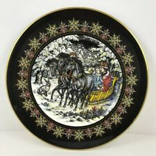 Villeroy & Boch Russian Magical Fairy Tales Plate The Hare & The Troika Signed