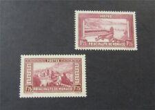 nystamps French Monaco Stamp # 121.124 Mint OG H $35  U18y3192