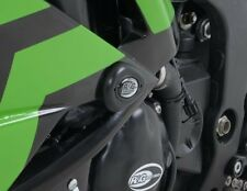 Kawasaki ZX6 R 2010 R&G Racing Aero RACE Crash Protectors CP0336BL Black