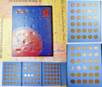 1909-1958 LINCOLN  WHEAT CENT PDS 3 PAGE BOOK~09VDB, 12D, 15D, 22D, & 55 PM DDO~