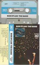 Bob Dylan The Band cassette K7 tape 747 label