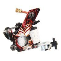 10 Wrap Coils Liner & Shader Set Quiet Lightweight Rotary Tattoo Gun Machine