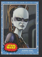 Topps Living - Star Wars 2019 # 31 Aurra Sing - The Clone Wars /1343