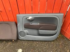 FIAT 500 BROWN CLOTH & CREAM LEATHER INTERIOR COMPLETE WITH DOOR CARDS CLEARANCE