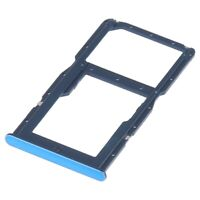Huawei P30 Lite Tiroir Support Carte SIM / Micro SD Rack Card Tray Holder - BLEU