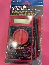 Cen Tech 7 Function Digital Multi Meter