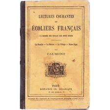 LECTURE des ECOLIERS FRANCAIS CAUMONT Famille Pays 1888