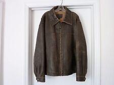James Dean Authentic Classic Men's Distressed Leather Jacket Men's Large LE