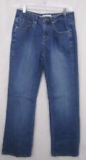 Lee National Denim Breast Cancer Day Distressed Jean Pink Embroidered Size7/8