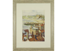 REDUCED *** Scarborough, Signed Watercolour Painting, Original Art