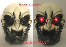 Light up SKULLMAN Life-size Helmet Mask Action TV Hero Halloween Cosplay Props