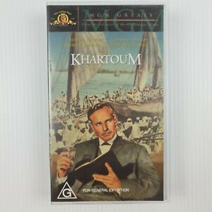 Khartoum VHS Tape - Charlton Heston - Laurence Olivier  - TRACKED POSTAGE
