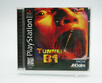 Tunnel B1 PlayStation 1 PS1 Game Complete Tested Free Shipping