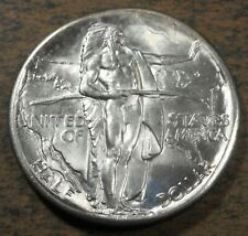 New listing 1928 Oregon Trail Commemorative Silver Half Dollar, Uncirculated condition! h315