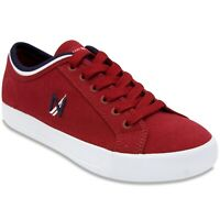 NAUTICA MEN'S HULL 2 SNEAKER SHOES RED SIZE 7.5 US