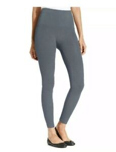 Star Power By SPANX Tout and About Lux Tux Shaping Leggings Size M Blue Haze
