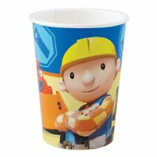 Bob the Builder Paper Cups 250ml 16 Party Disposable Cups