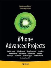 NEW IPhone Advanced Projects by Joachim Bondo Dave Mark $52.79