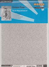 Letraset Screen-Tone MT12 MANGA Art Supplies SEALED NEW (1x)