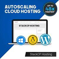 UK Unlimited Cloud SSD cPanel / StackCP Web Hosting Fast Website Hosting