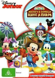 Mickey Mouse Clubhouse Mickey and Donald Have a Farm DVD | Region 4