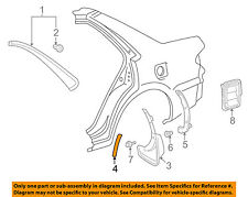 TOYOTA OEM 98-02 Corolla Exterior-Protector Right 5874102010